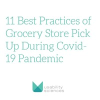 Best Practices of Grocery Store Pick Up During Covid-19 Pandemic