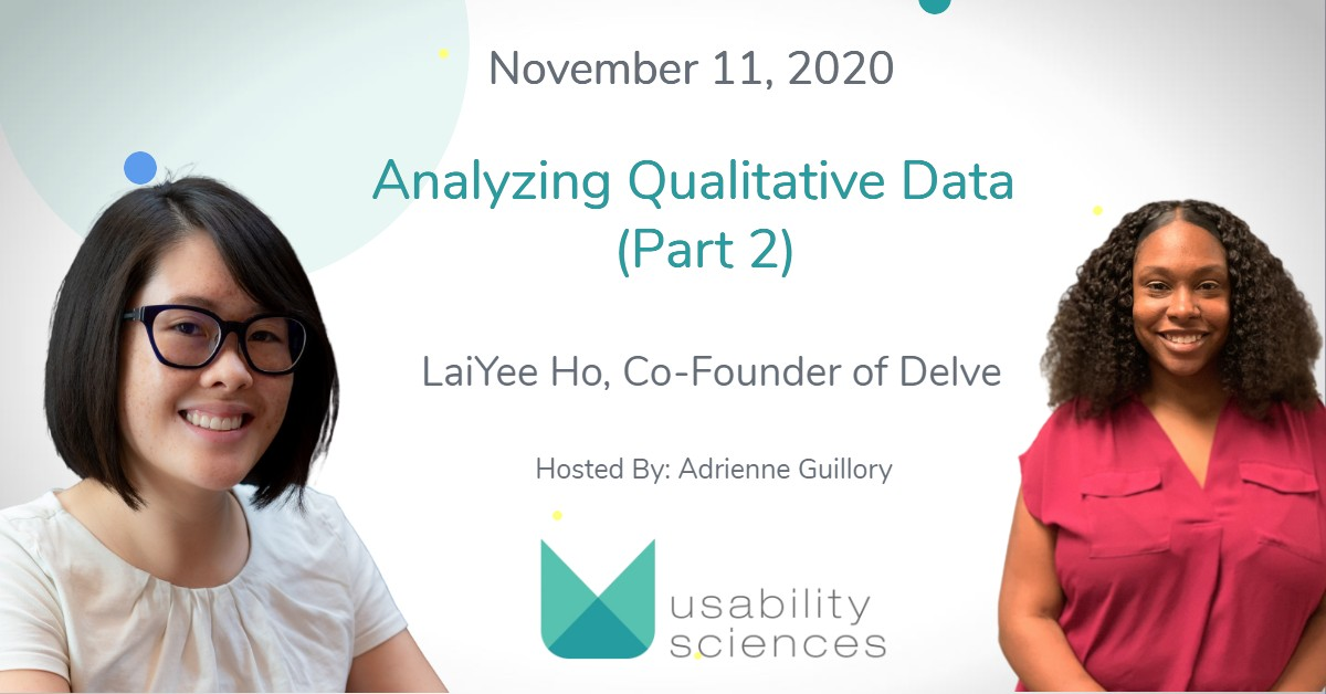 World Usability Day Celebration: Analyzing Qualitative Data (Part 2)